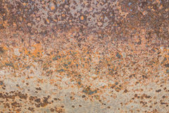Rust on steel Royalty Free Stock Photos