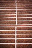 Rust steel grating Royalty Free Stock Photography
