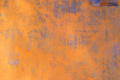 Rust on steel plate Stock Photo
