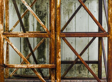 Rust Steel Structures royalty free stock images