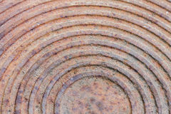 Rust on steel Royalty Free Stock Images