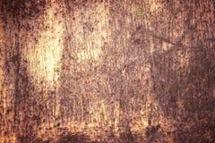 Rust Streaked Tin Stock Photo