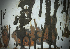 Rust tar stains metal texture Royalty Free Stock Photo