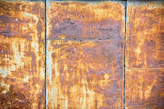 Rust texture. Rust panel can be used as texture stock images