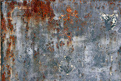 Rust Texture. Closeup of rusted metal surface Royalty Free Stock Images