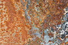 Rust texture. Grunge iron rust texture, old steel corrosion background stock images