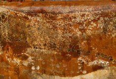 Rust texture. Old metal rust texture detail royalty free stock photo