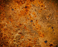 Rust texture as metal plate background Stock Photography