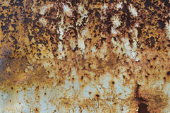 Rust texture as metal plate Stock Image