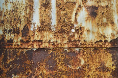 Rust texture as metal plate Royalty Free Stock Photos