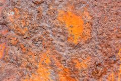 Rust Texture Background Pattern. Photo Picture of the Metal Rust Texture Background Pattern Royalty Free Stock Photos