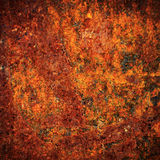 Rust Texture. Vignetting Photo of Old metal rust texture detail stock images
