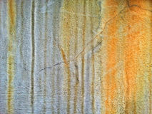 Rust texture on the Wall Royalty Free Stock Image
