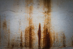 Rust texture on the wall Stock Photo