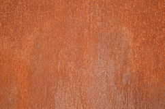 Rust. A textured rust on a steel panel Stock Image