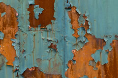 Rust textures. Shoot of the rust textures Stock Image