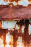 Rust on Tin Stock Image