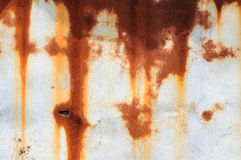 Rust on Tin Stock Photography