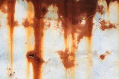 Rust on Tin Stock Photography