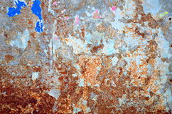 Rust and Torn Paper Background Royalty Free Stock Photos