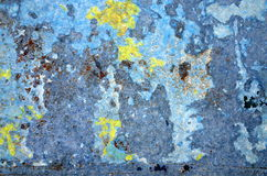 Rust and Torn Paper Background Stock Photography
