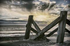 Rust vóór het onweer stock fotografie