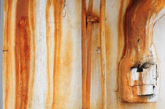 Rust on a wall stock images