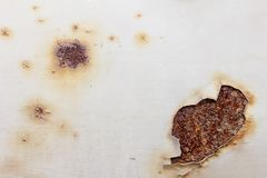 Rust wall background. Stock Image