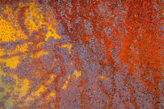 Rust wall Background colorful Stock Photography