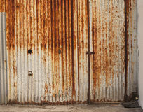 Rust wall 2 Royalty Free Stock Image