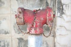 Rust on water sprinkler Royalty Free Stock Images