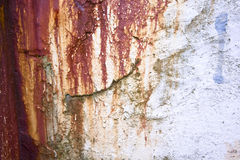 Rust and weathered background Stock Images