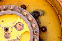 Rust wheel Royalty Free Stock Images