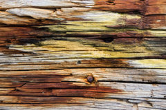 Rust and wood Royalty Free Stock Images