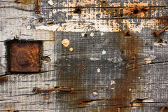 Rust and wood Stock Photos
