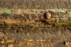 Rust and wood texture Stock Photos