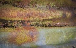 Rust zinc Stock Image