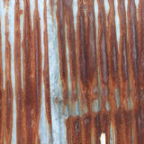 A rust on zinc wall background Stock Photo