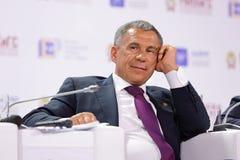 Rustam Minnikhanov Imagens de Stock Royalty Free