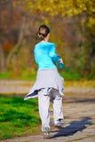 rustande kvinna arkivfoto