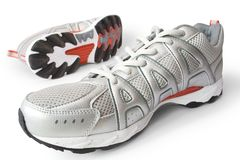 rustande skor för man s Arkivbilder