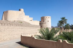 Rustaq fort in Oman Stock Photography
