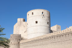 Rustaq fort in Oman Royalty Free Stock Images