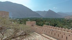 Rustaq Fort, Oman royalty free stock images