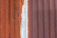 Rusted гальванизировало Стоковые Изображения