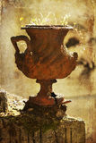 Rusted amphora Royalty Free Stock Photography