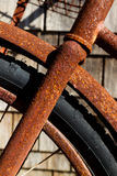 Rusted Beachcomber. Bike in afternoon sun Stock Images