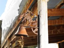 Rusted bell. Stock Photo