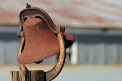 Rusted bell Stock Images