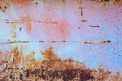 Free Rusted Blue Painted Metal Background With Textur Royalty Free Stock Photos - 172902478